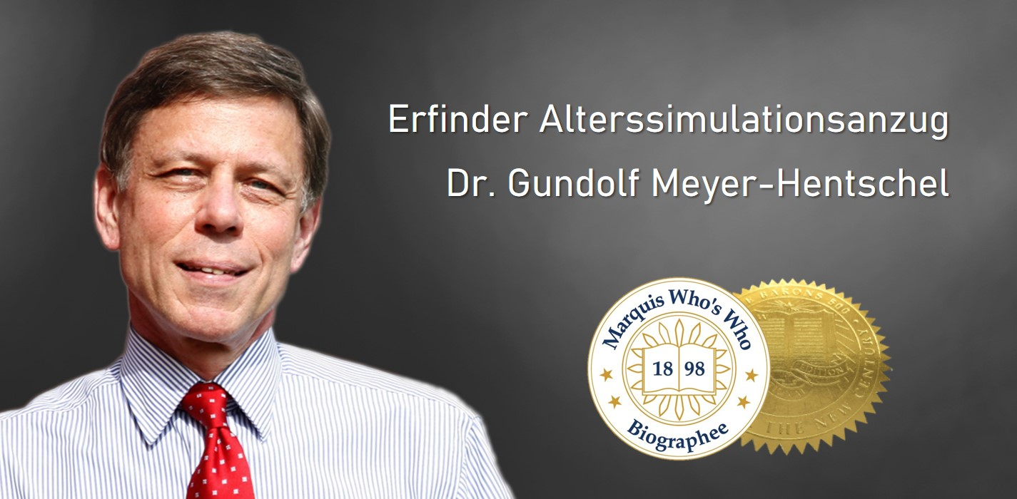 Gundolf Meyer-Hentschel hat 1994 den Alterssimulationsanzug erfunden